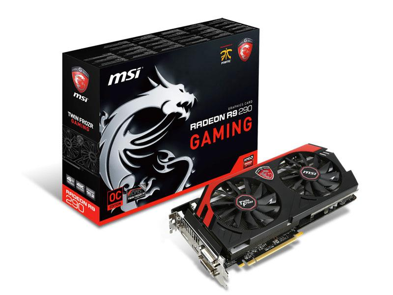 MSI Msi Radeon R9 290 Gaming Twin Frozr Iv 1Ghz 4G