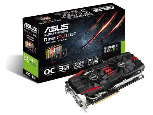 Asus Nvidia Geforce Gtx 780 Ti,Pci Express 3.0,Gdd