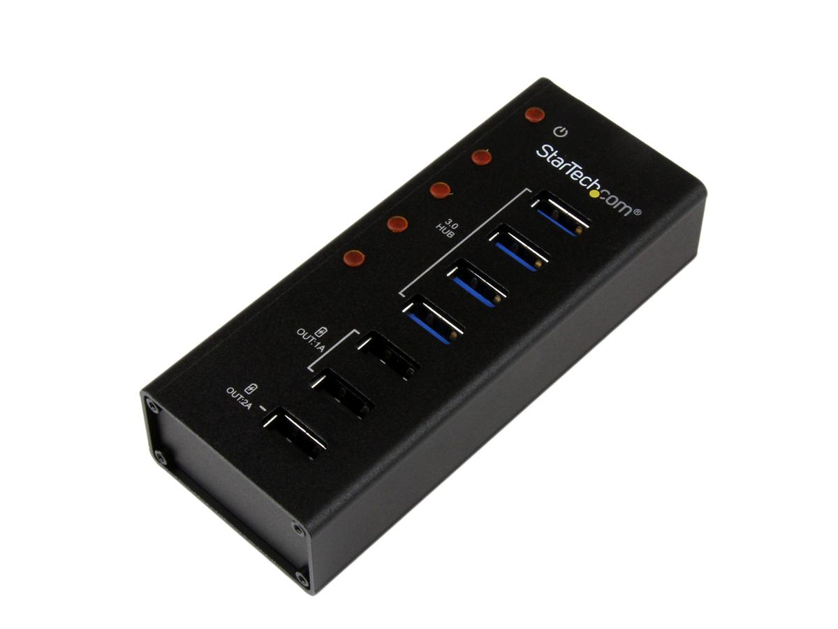 Startech Add 4 Usb 3.0 Hub Ports, Plus 3 Dedicated