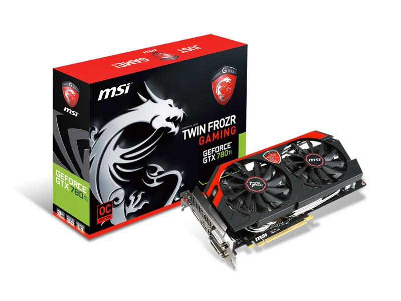 MSI Msi N780 Gaming Geforce Gtx 780 Ti Gaming 1020