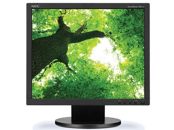 NEC Accusync As172-Bk, 17 Led Backlit Lcd Monitor,