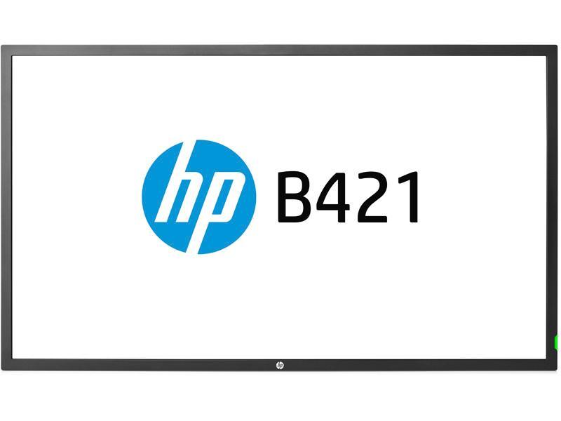 Hewlett Packard - HP Hp B421 - Digital Signage - 4