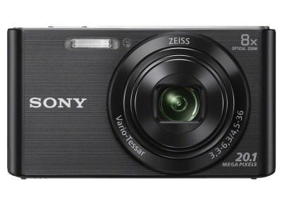 Sony Dscw830B (Black) 20.1Mp, 8X Optical Zoom, 720