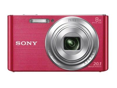 Sony Dscw830P (Pink)  20.1Mp, 8X Optical Zoom, 720