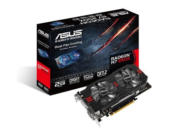 Asus R7250X-2Gd5,Amd Radeon. R7 250X,Pci Express 3