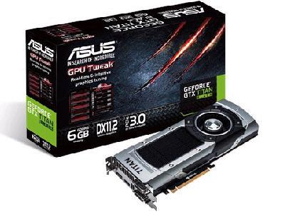 Asus Nvidia Geforce Gtx Titan Black,Pci Express 3.