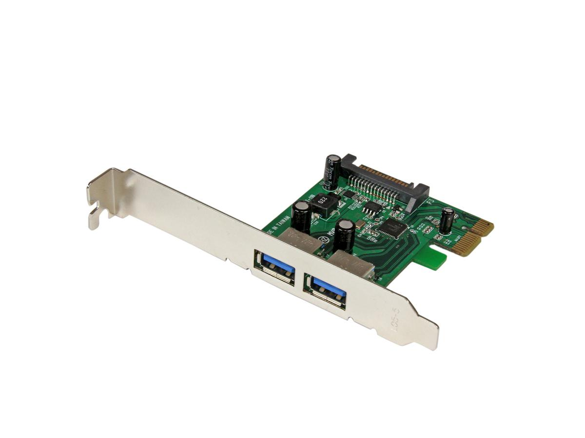 Startech Add 2 Superspeed Usb 3.0 Ports With Sata