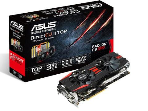 Asus Radeon R9280 980Mhz 3G 2Dvi/Hdmi/Dp