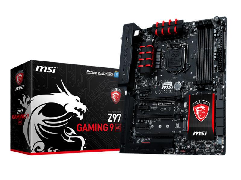 MSI Z97 Gaming 9 Ac, Inter 9 Series Mothboard Solu