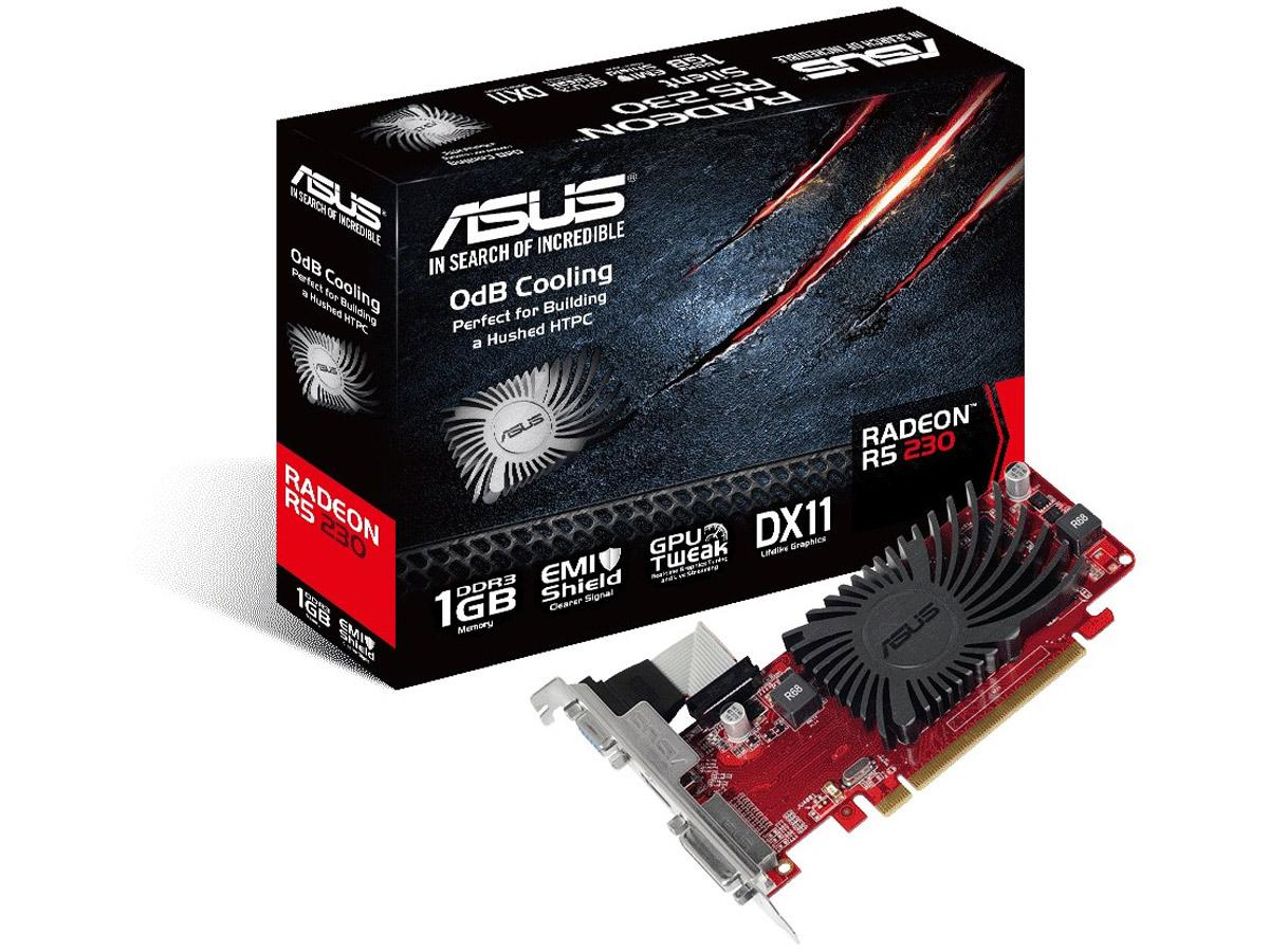 Asus Amd Radeon R5 230,Pci Express 2.1,Ddr3 1Gb,62