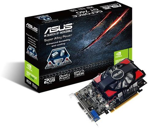 Asus Gt740-2Gd3-Csm,3 Yr Warranty,Geforce Gt740,Pc