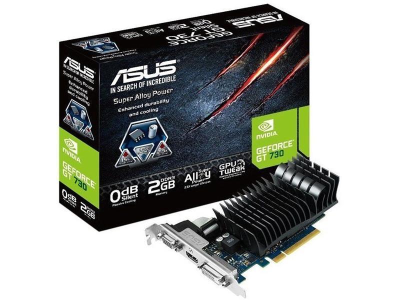 Asus Nvidia Geforce Gt730,Pcie 2.0,Opengl 4.3,2048