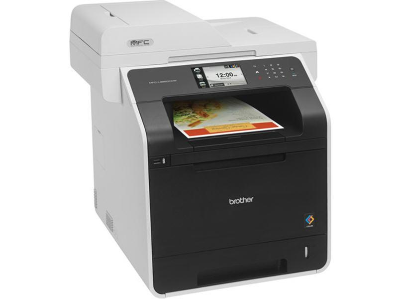 Brother Color Laser All-In-One With Wireless Netwo