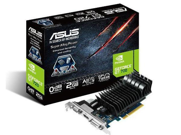 Asus Nvidia Geforce Gt720 2048M 900 Mhz(1800 Mhz G