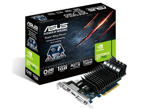 Asus Geforce Gt 720,1800 Mhz, 2 Gb Ddr3, 64 Bit, 7