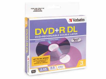Verbatim Verbatim -6 X 3Pk Dvd+R (Dual Layer) 8.5