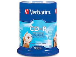 Verbatim Verbatim - Cd-R - 700 Mb - 52X (Max) - 5.