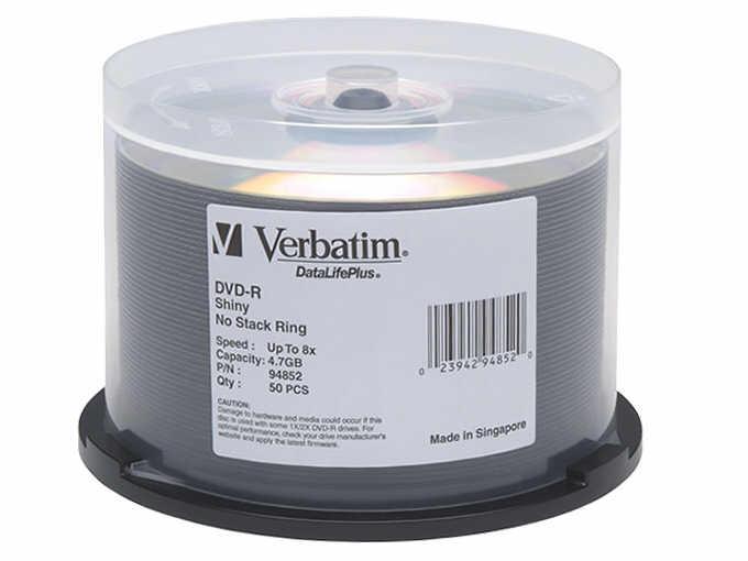 Verbatim Verbatim Datalife Shiny Silver - Dvd-R X