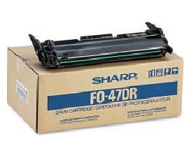 Sharp Black Drum Cartridge For Use In Fo4400 Fo445