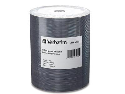 Verbatim Cd-R 80Min 700Mb 52X Datalifeplus White I