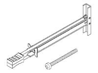Peerless Peerless Metal Stud Fastener Kit Acc 215