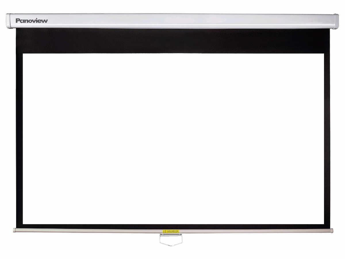 Optoma Matte White Manual Speed-Control Screens