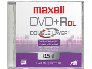 Maxell Maxell - 1 X Dvd+R 8.5 Gb 2.4X - Jewel Case