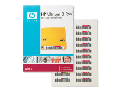 Hewlett Packard - HP Hp Ultrium 3 Rw Bar Code Labe