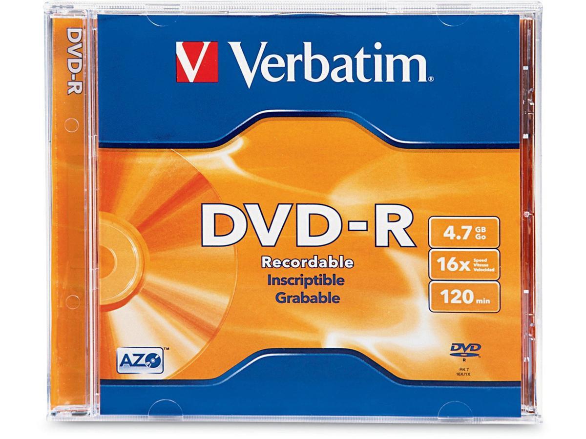 Verbatim Verbatim Dvd-R 4.7 Gb 16X - Spindle - Sto