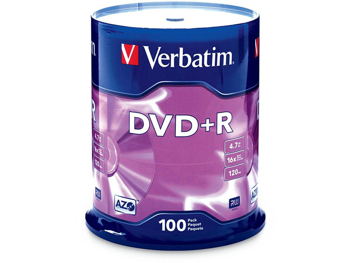 Verbatim Verbatim Dvd+R 4.7 Gb 16X - Cakebox - Sto