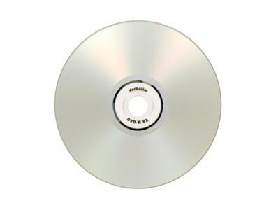 Verbatim Dvd-R 4.7Gb 8X Datalifeplus Silver Inkjet